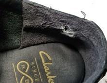 Clarksクラークス滑り革の補修、ヒールの補修サムネイル