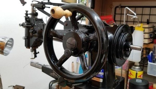 robitaロビタレザーメッシュトートバッグの持ち手補修サムネイル