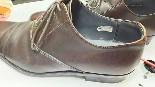 紳士靴の部分塗装しました。サムネイル